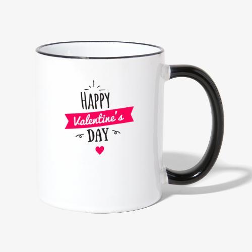 St Valentin - Mug contrasté