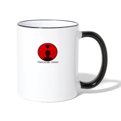Traceur Cash - Mug contrasté