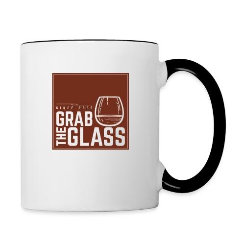 Grabtheglass LOGO - Tasse zweifarbig