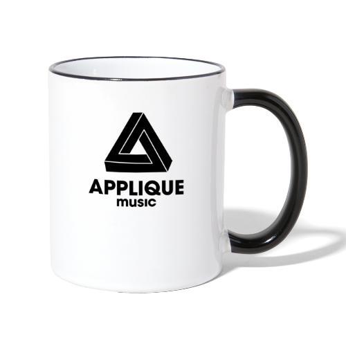 Applique Logo - Contrasting Mug