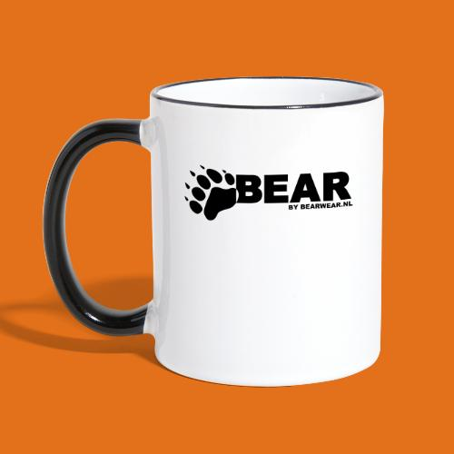 bear by bearwear sml - Contrasting Mug