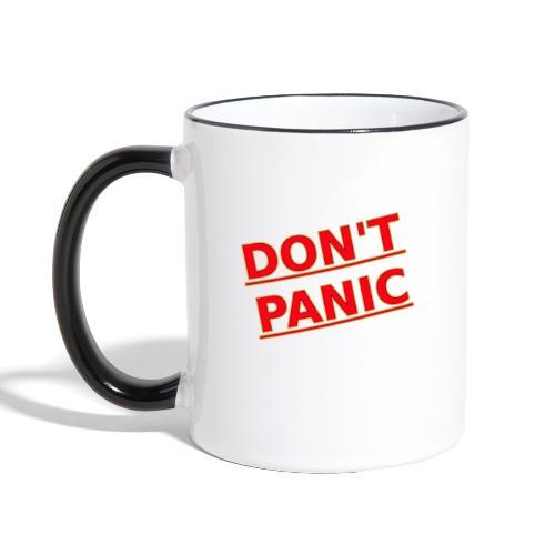DON T PANIC 2 - Contrasting Mug