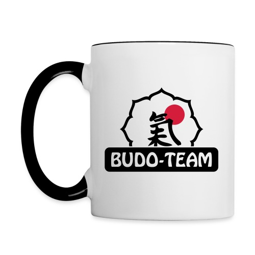 Budo-Team Design - Tasse zweifarbig