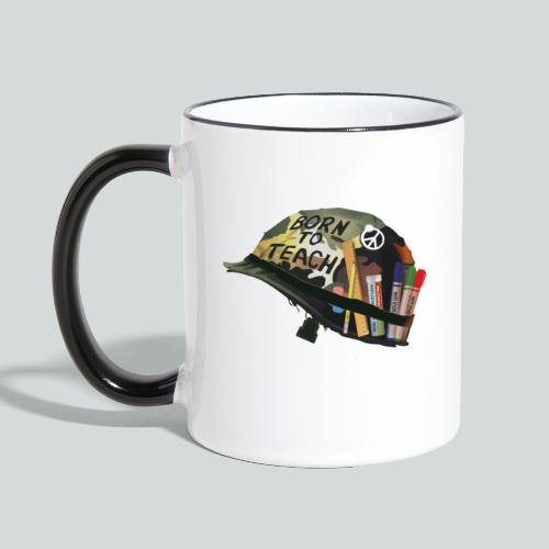 Born to teach - AAS - Mug contrasté