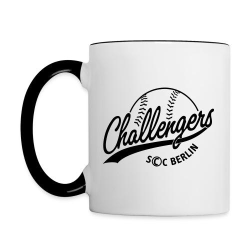 Challengers Logo - Tasse zweifarbig