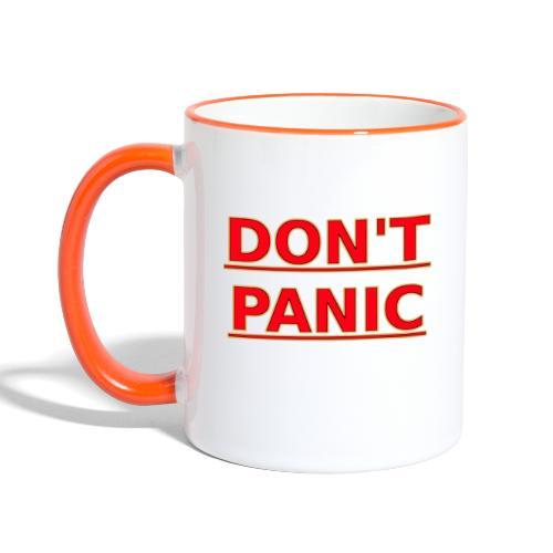 DON T PANIC - Contrasting Mug