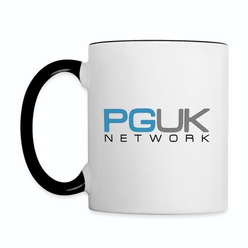 PGUK Network Black png - Contrasting Mug