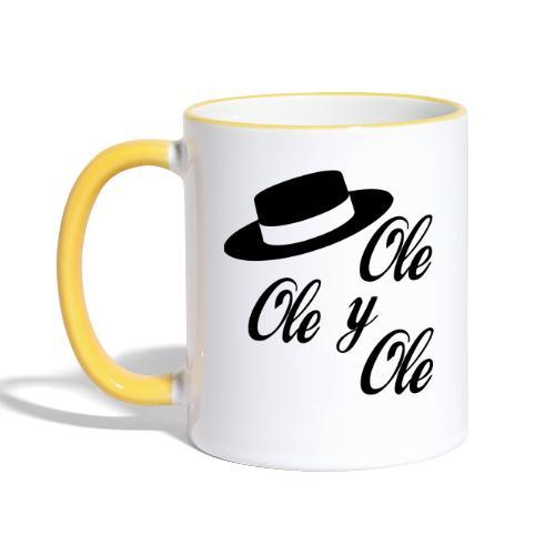Ole,Ole y Ole (Hombre) - Taza en dos colores