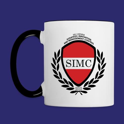 simc logo original - Contrasting Mug
