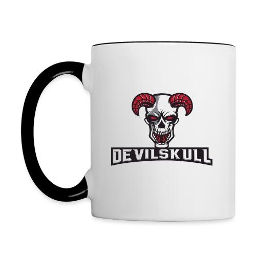 Devilskull - Tasse zweifarbig