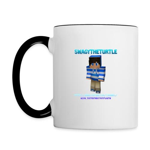 SwagyTheTurtle Combination png - Contrasting Mug