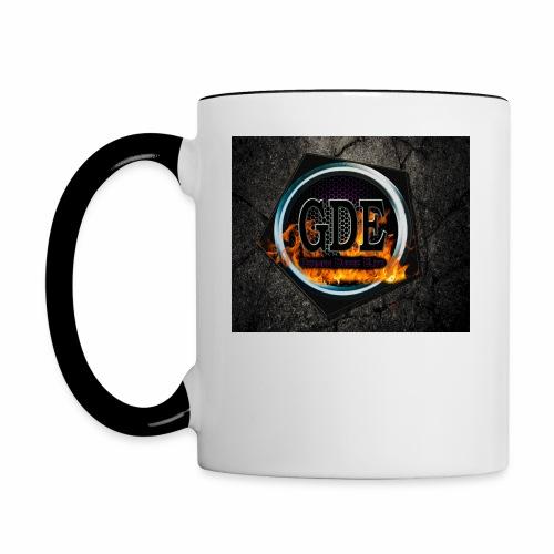 GDE Logo 1 - Tasse zweifarbig