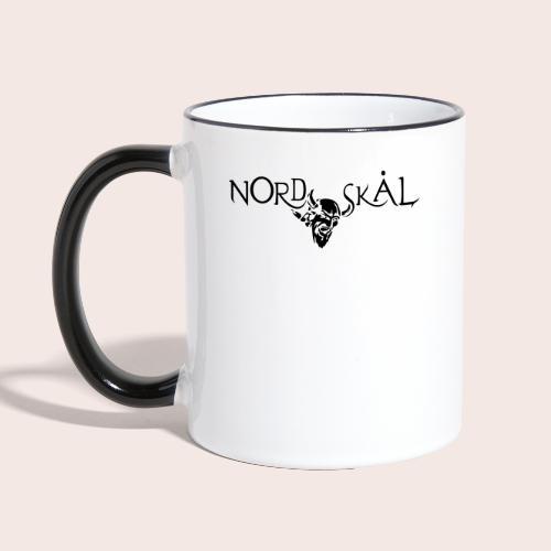 Nordskal 2400x1000 - Tasse zweifarbig