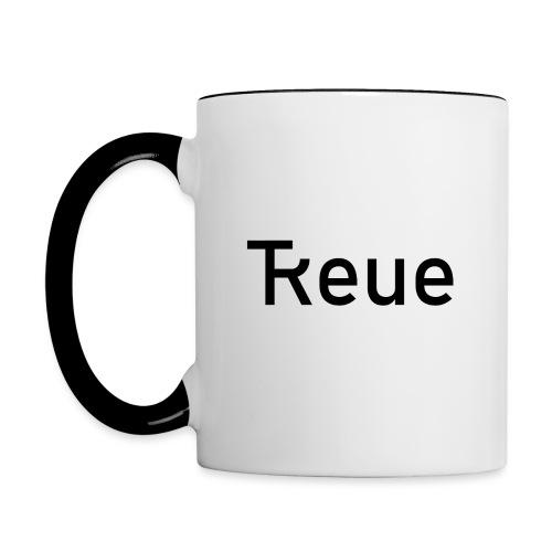 TReue - Tasse zweifarbig