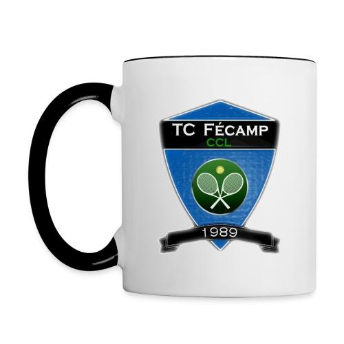 logo grand png - Mug contrasté