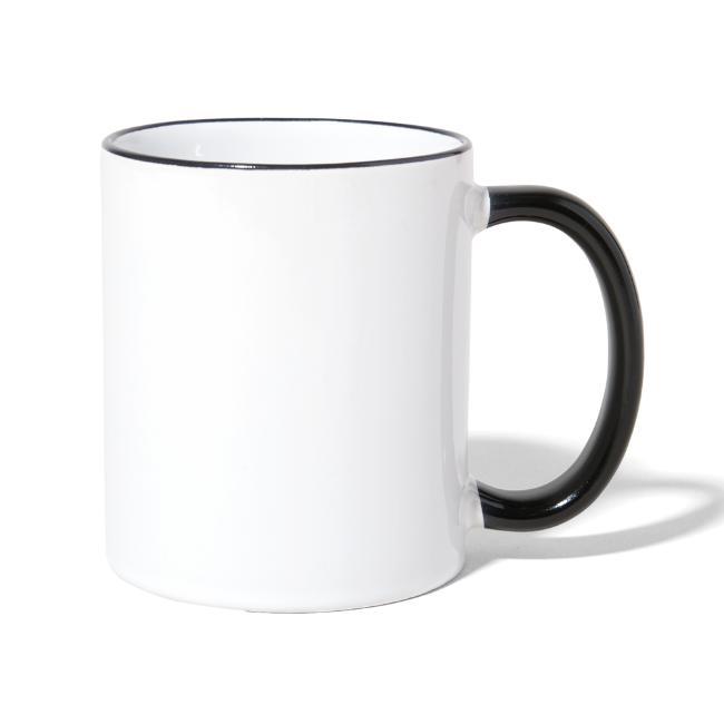 Vorschau: meinige - Tasse zweifarbig