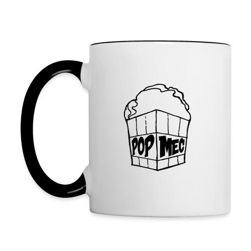 PopMeC logo - Contrasting Mug