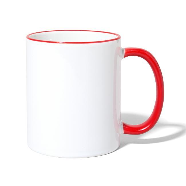 Vorschau: Heid ned - Tasse zweifarbig