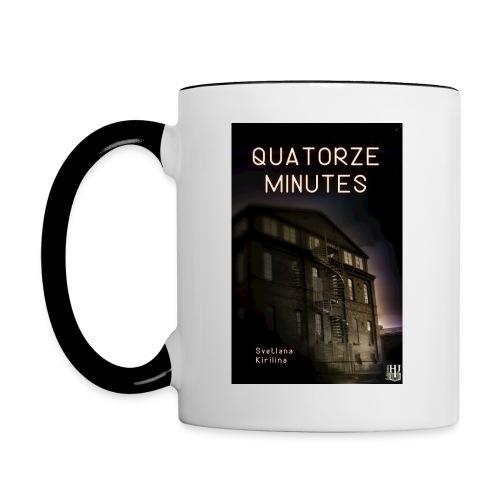Quatorze minutes - Mug contrasté