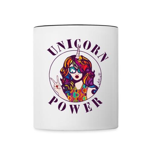 UNICORN POWER - Mug contrasté