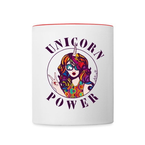 UNICORN POWER - Mug contrasté