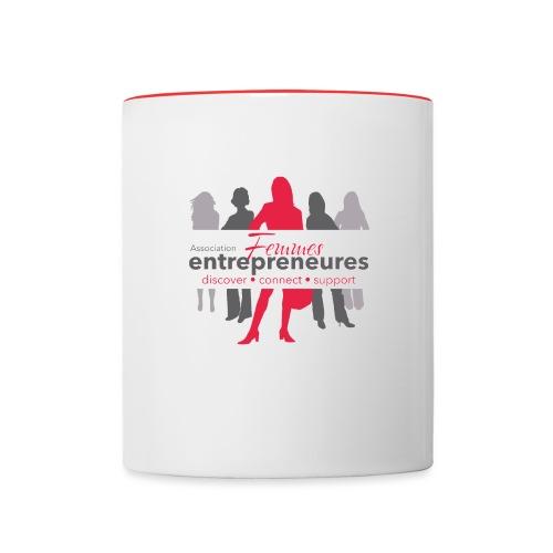 Femmes Entrepreneures network - Mug contrasté