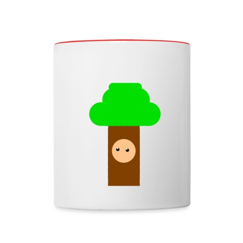 Tree Mug - Contrasting Mug
