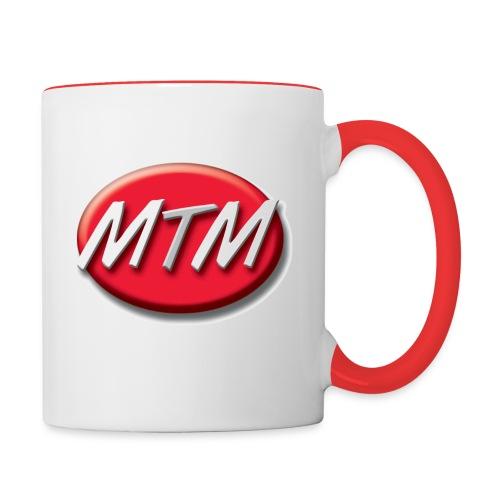 Logo SwissMTM - Tasse zweifarbig