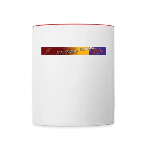 logo - Tasse zweifarbig