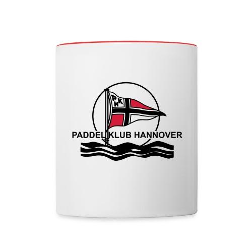 PKH Logo - Tasse zweifarbig