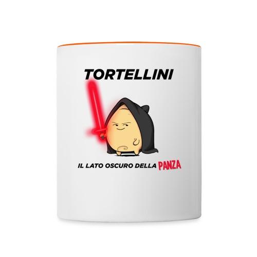 Tortellino Tshirt 2 png - Tazze bicolor