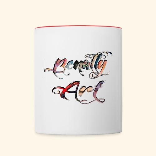 benallyartwirklichschwarz gif - Contrasting Mug