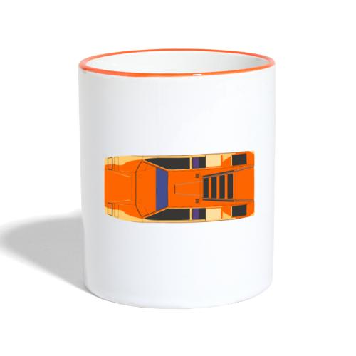 countach - Contrasting Mug