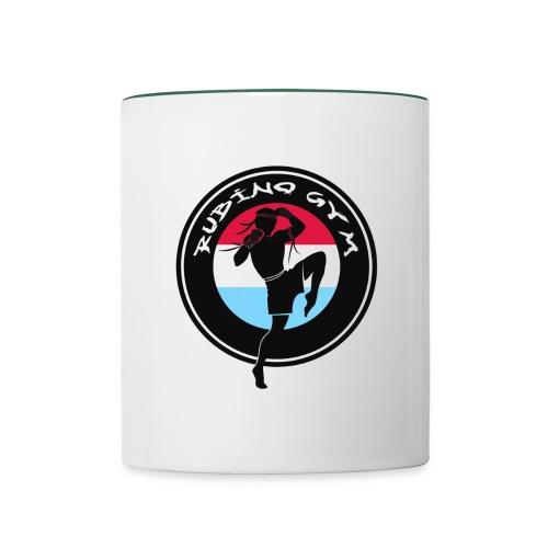 LOGO RUBINO GYM - Mug contrasté
