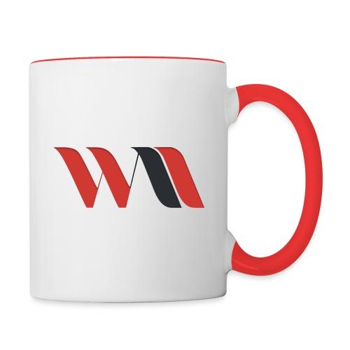 Logo WAO - Mug contrasté