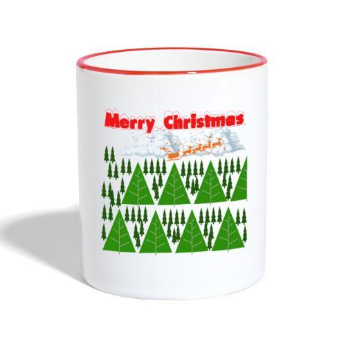 #natale, #christmas e amore per la famiglia - Tazze bicolor