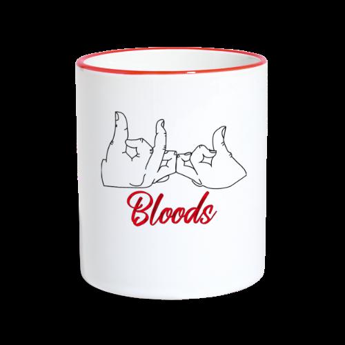 Bloods - Mug contrasté