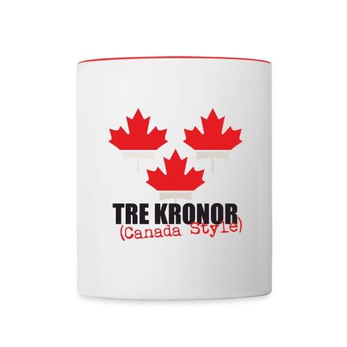 3kronorCanada1 - Contrasting Mug