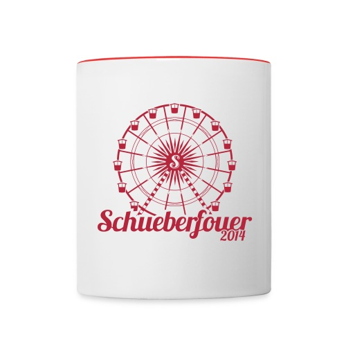 Schouberfouer2014 - Contrasting Mug