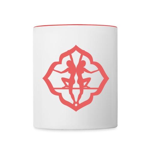 logo femme - Mug contrasté