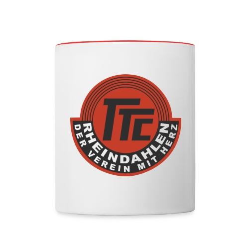 TTC Logo Finale png - Tasse zweifarbig