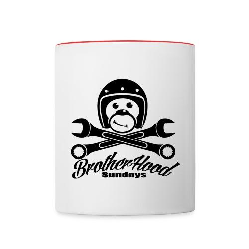 brotherhood sundays - Mug contrasté