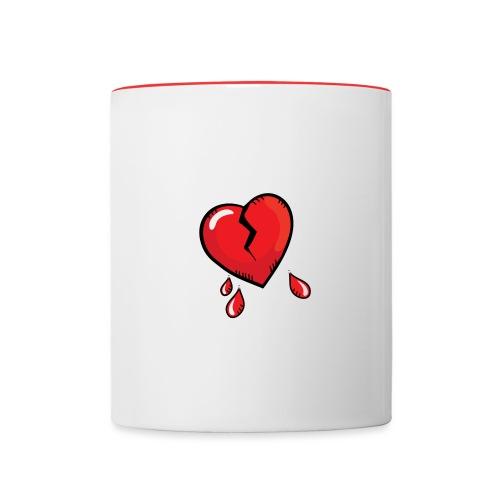 Broken Heart - Contrasting Mug