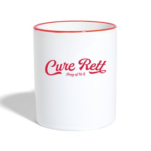 Cure Rett - Contrasting Mug