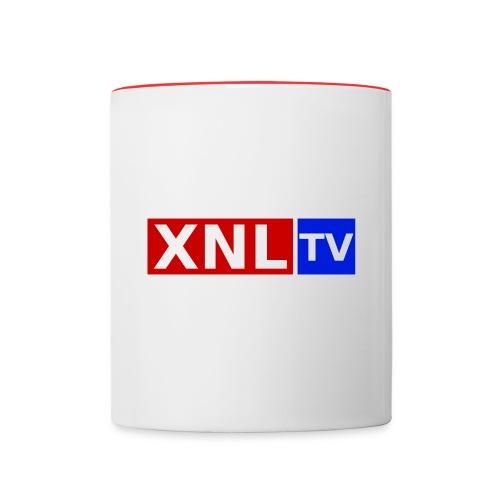 XNL TV Large 3 Color CO png - Contrasting Mug