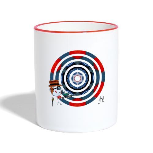 Action - Mug contrasté