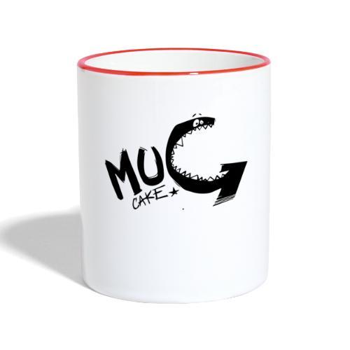 Mug cake monster - Mug contrasté