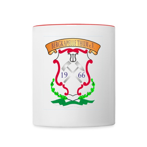 Logo Bergkapelle png - Tasse zweifarbig