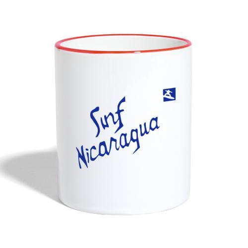 Surf Nicaragua Val Kilmer Chris Knight - Contrasting Mug
