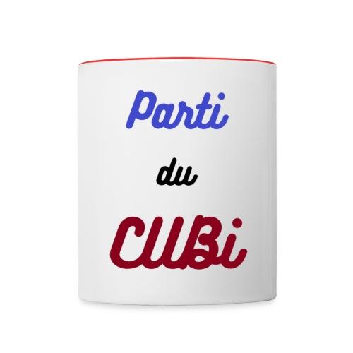 pdclogoGT - Mug contrasté